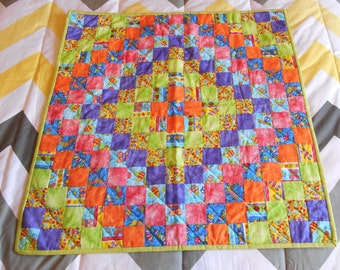 In the Garden Quilted Blanket
