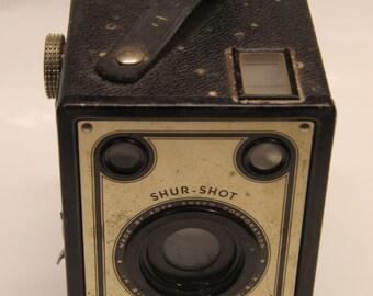 Vintage Agfa Shur-Shot Box Camera