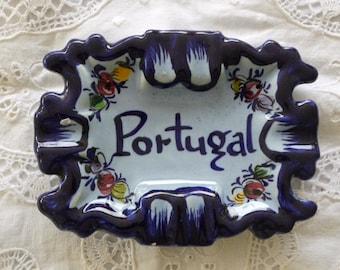 Vintage Portugal ashtray