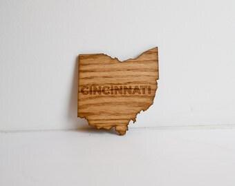 Cincinnati Coasters - Set of Four