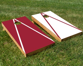 Arkansas Razorbacks Cornhole Board Set