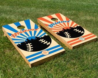 Miami Marlins Cornhole Board Set