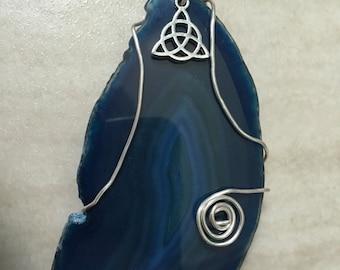 Blue Triquetra