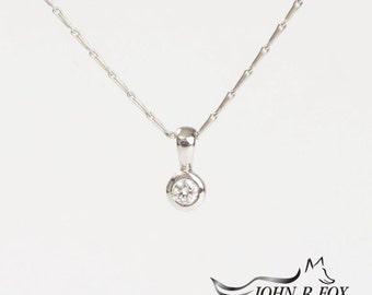 Chubbie 18ct Gold & Diamond Pendant