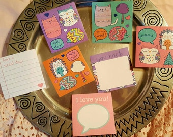 Lunch Notes, Super Cute, kids school lunches