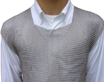 Welded Stainless Steel Chain Mail Vest