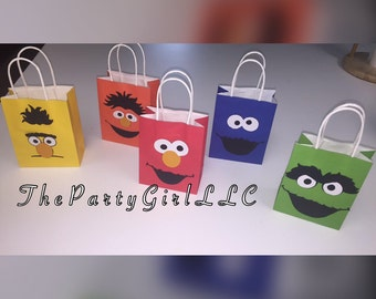 SESAME STREET Party Bags! (AnyTHEME's Possible!- CONVO Me!)