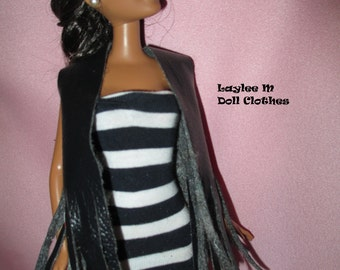 Barbie Doll Short, Vest and top- 3 pieces - FREE SHIPPING