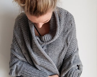Hand made wool sweater