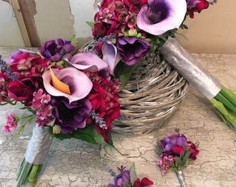 Purple and Magenta wedding package