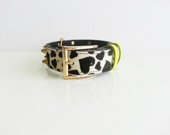 Neon Hearts | Dog Collar