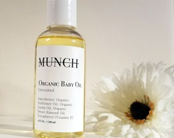 Organic Baby Oil | Gentle and Calming