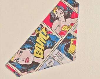 Wonderwoman slip on bandana