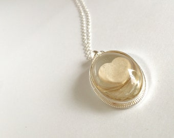 Breast Milk Pendant Breast Milk Jewellery Keepsake Necklace
