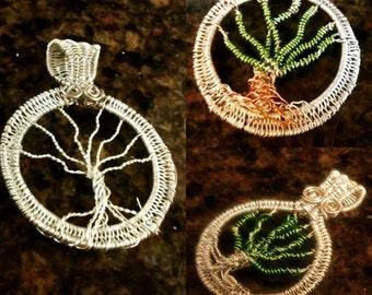 Tree Of Life Pendant Handmade