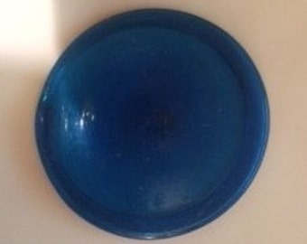 "3"" Antique Rondel (Deep Blue)  Made in Germany"