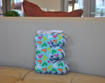 Decorative letter pillow - nursery decor - kids room decor - kids bedroom - kids decor - kids room - baby name - baby nursery