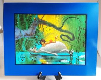 Disney Lithograph // 1997 Jungle Book // Exclusive Store Commemorative // Collectible Art Print