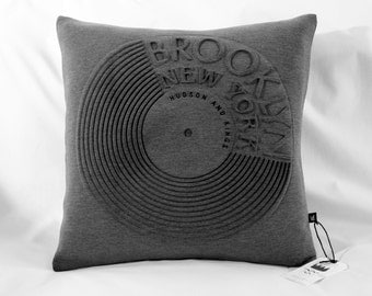 Brooklyn Record Cushion Cover