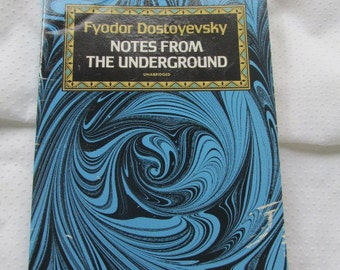 """Vintage Literature:  """"Notes from the Underground (Dostoyevsky)"""" from Shakespeare and Company, Paris"""