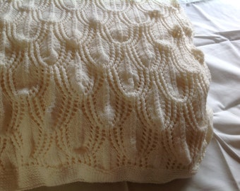 Gorgeous hand knitted Shawl