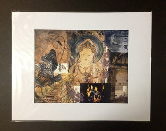 "Archival Art Print ""Enlightenment"" Matted and Numbered"