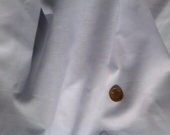 High quality oxford polycotton poplin white