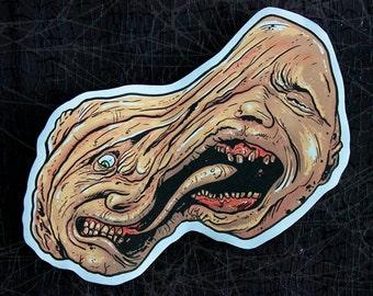 The Thing-John Carpenter-Monster Horror Movie Inspired Large Paper Sticker