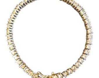 Vintage CZ Tennis Bracelet