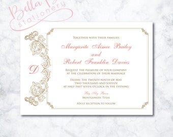 Marguerite Wedding Invitation Design