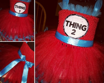 Dr. Suess Thing 1 & Thing 2 Costumes