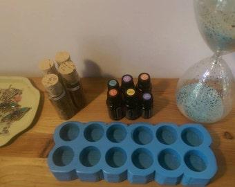 Cloud Essential Oil Tray Blue Light Rack Box