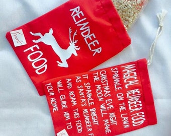 Reindeer Food Sacks