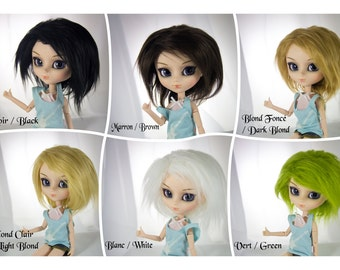 As Wig wig Pullip size 9-22 color choices