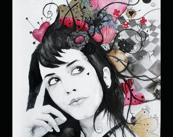 Fantasy... commissioned portraits... pictures, painting, watercolor, ink china...
