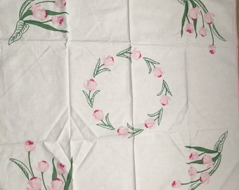 Square centrepiece tablecloth