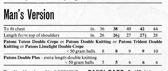 ladies mens waistcoats knitting pattern pdf womens ...