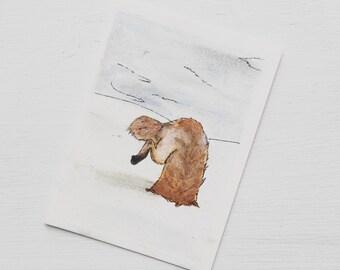 Fox - Artist Trading Card
