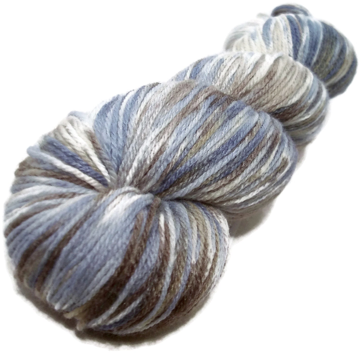 Handpainted Fingering Yarn Bamboo Bliss by GreenwoodFiberworks