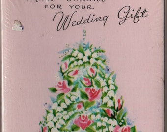 Vintage Wedding Thank You Cards - Set of 8