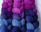 Softest polwarth wool roving, spinning fiber, felting wool, dolls hair, wet felting wool, needle felting wool, embellishing fiber,100g/3.5oz