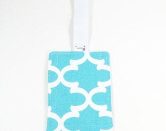 Luggage Tag - Blue Fulton