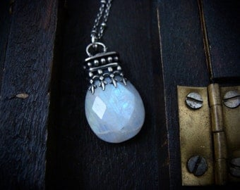 oracle ... rainbow moonstone pendant