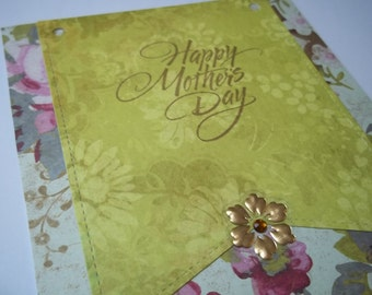 Mothers Day Card, Mothers Day Greeting Card, Handmade Mothers Day Card, Greeting Cards, Moms Day, Mothers Day Greeting