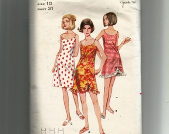 Butterick Misses' Dress or Cover Up Pattern 4023