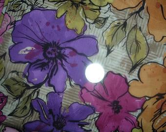 Quilt Fabric Destash Big Bold Flowers Legacy Studios  by the Half Yard