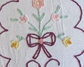 Vintage Chenille Bedspread - Cutter