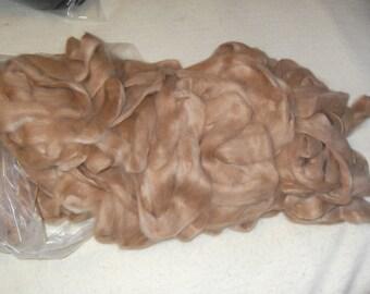4 oz pure fawn suri alpaca roving ANTONIA