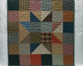 Homespun Star Quilt