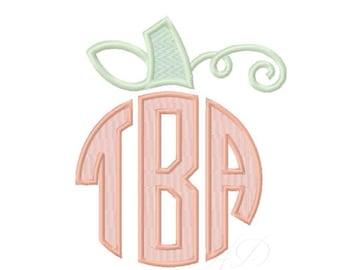 Pumpkin Embroidery Design Harvest 4x4 5x7 6x10 Instant Download Halloween Thanksgiving PES BX